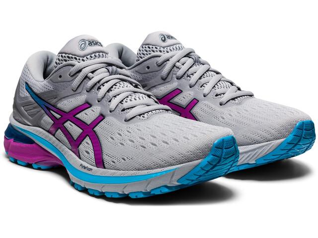 asics GT-2000 9 Shoes Women, piedmont grey/digital grape
